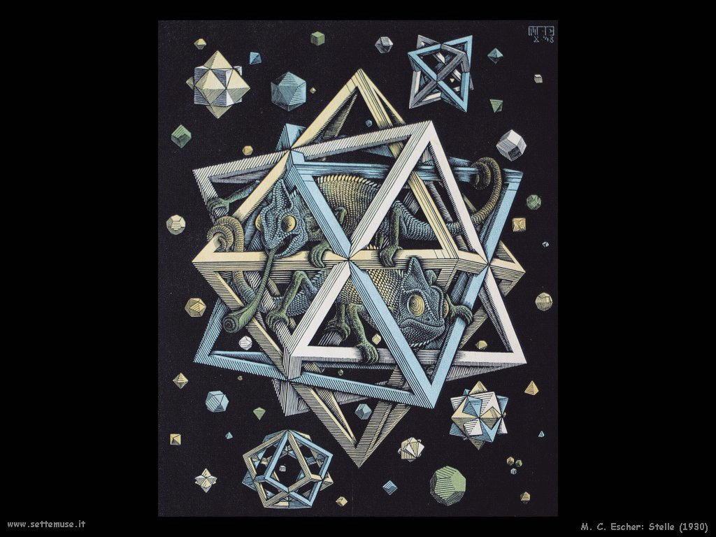M. C. Escher stelle 1930