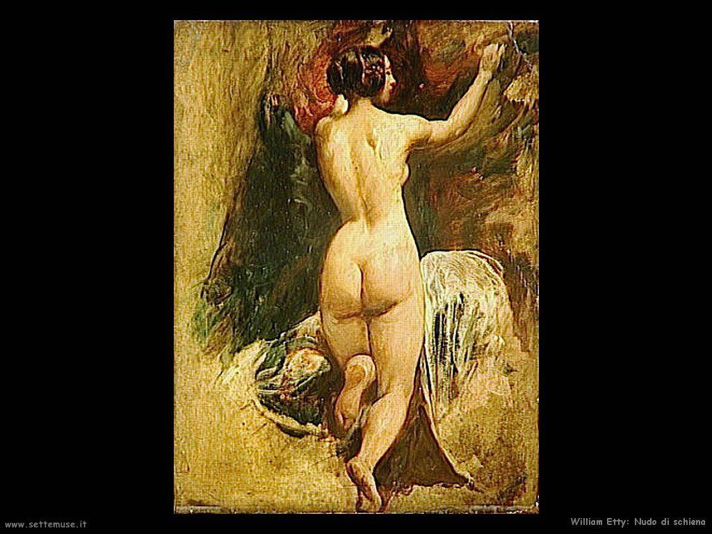 WILLIAM ETTY pittore biografia opere quadri | Settemuse.it
