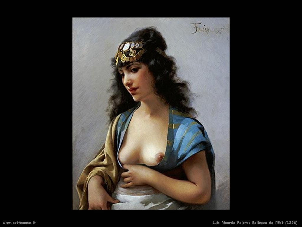 luis ricardo falero eastern beauty 1896