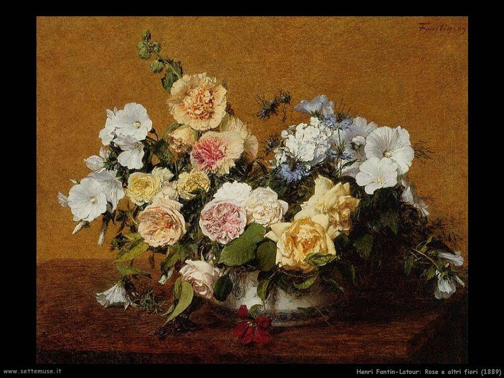 HENRI FANTIN-LATOUR pittore biografia opere | Settemuse.it