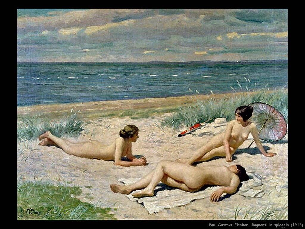 paul_gustave_fischer__bagnanti_in_spiaggia_1916