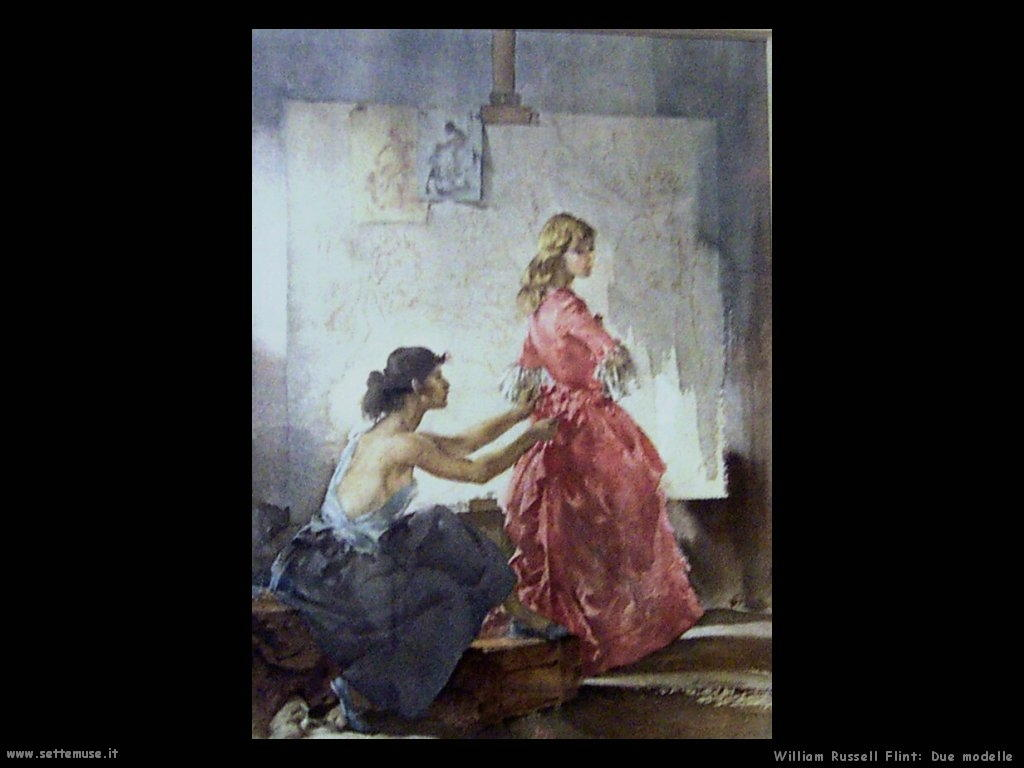 william_russell_flint_due_modelle