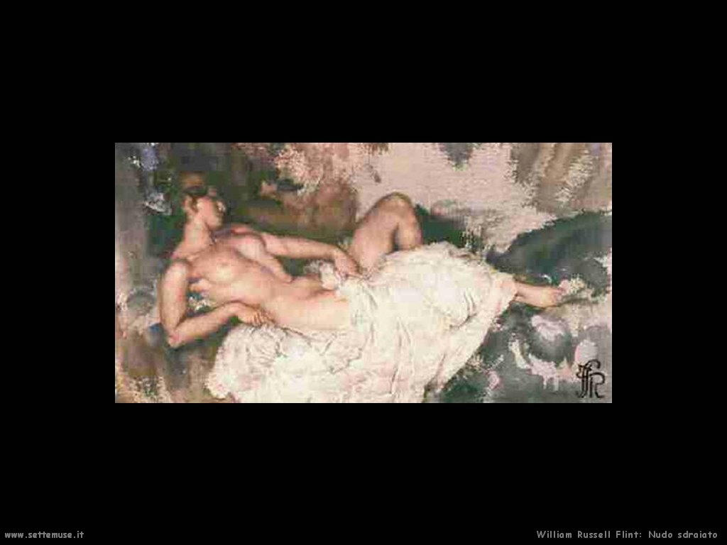 william_russell_flint_reclining_nude