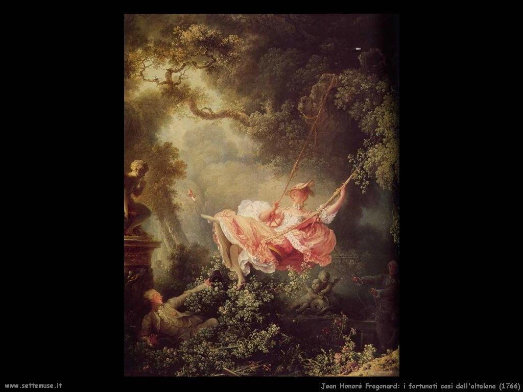 I fortunati casi dell'altalena (1766)