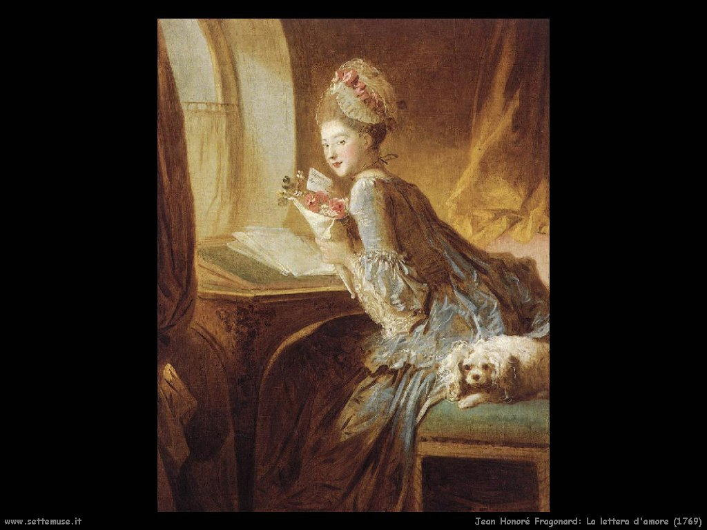 La lettera d'amore (1769)