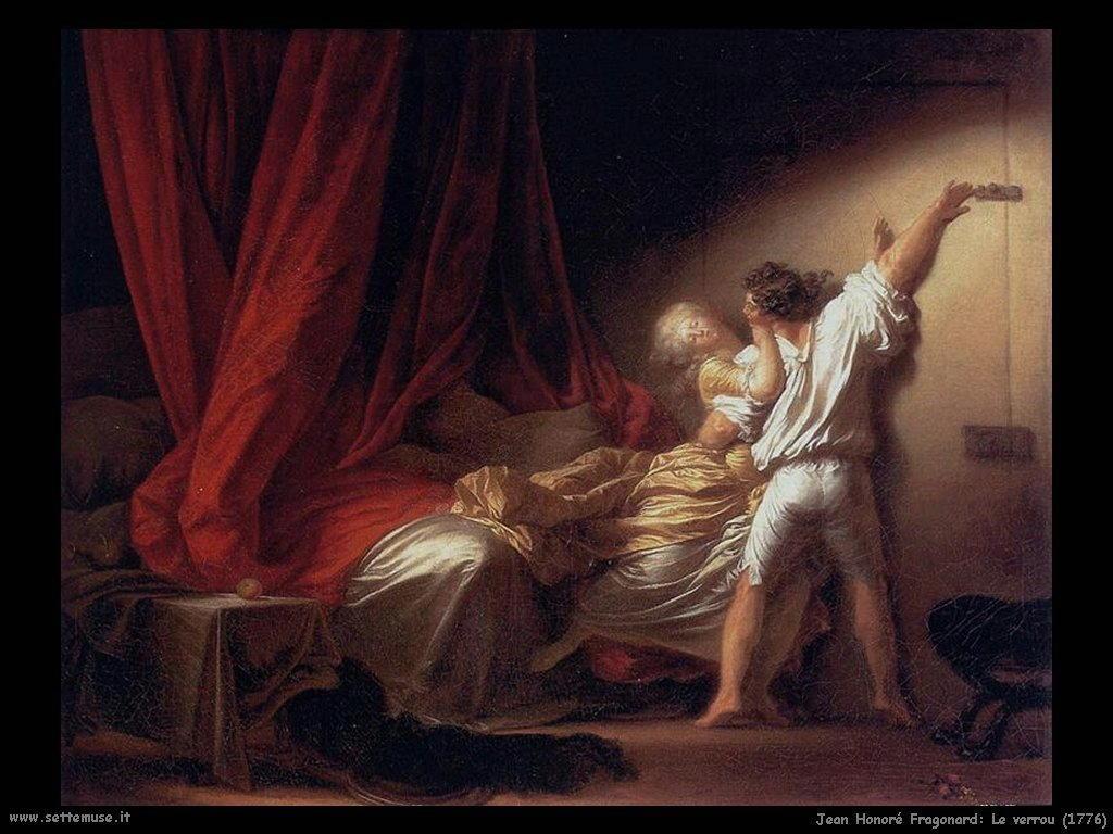 Le verrou (1776)