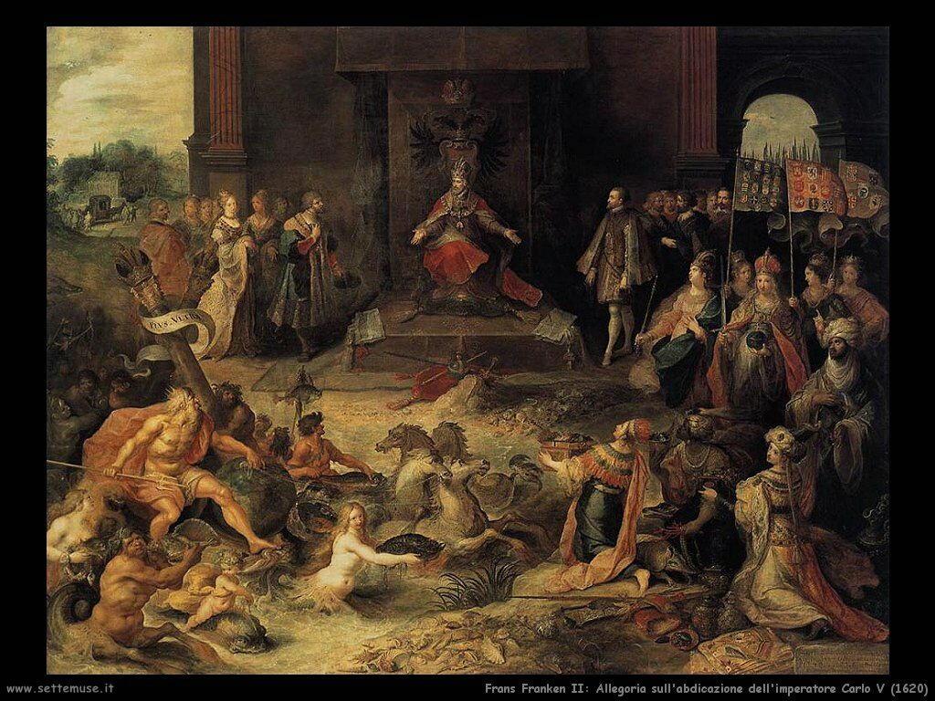 frans_francken_giovane_allegoria_abdicazione_imperatore_carlo_V_1620