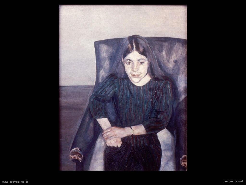 Lucian Freud ritratto