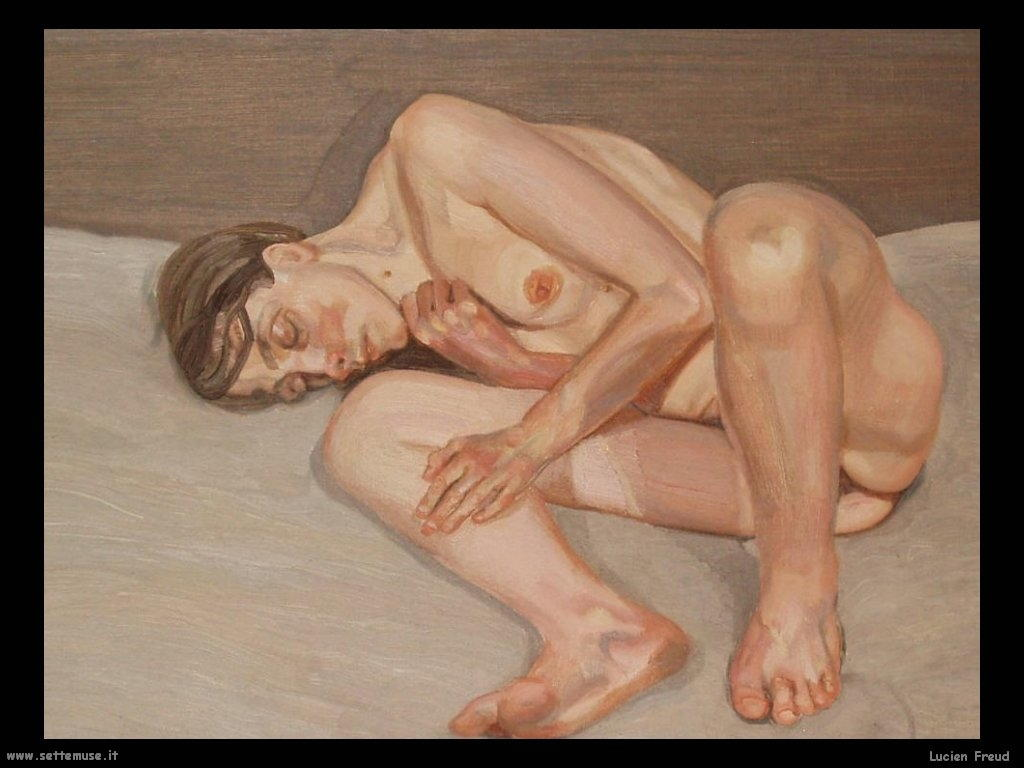 Lucian Freud Nudo sdraiato