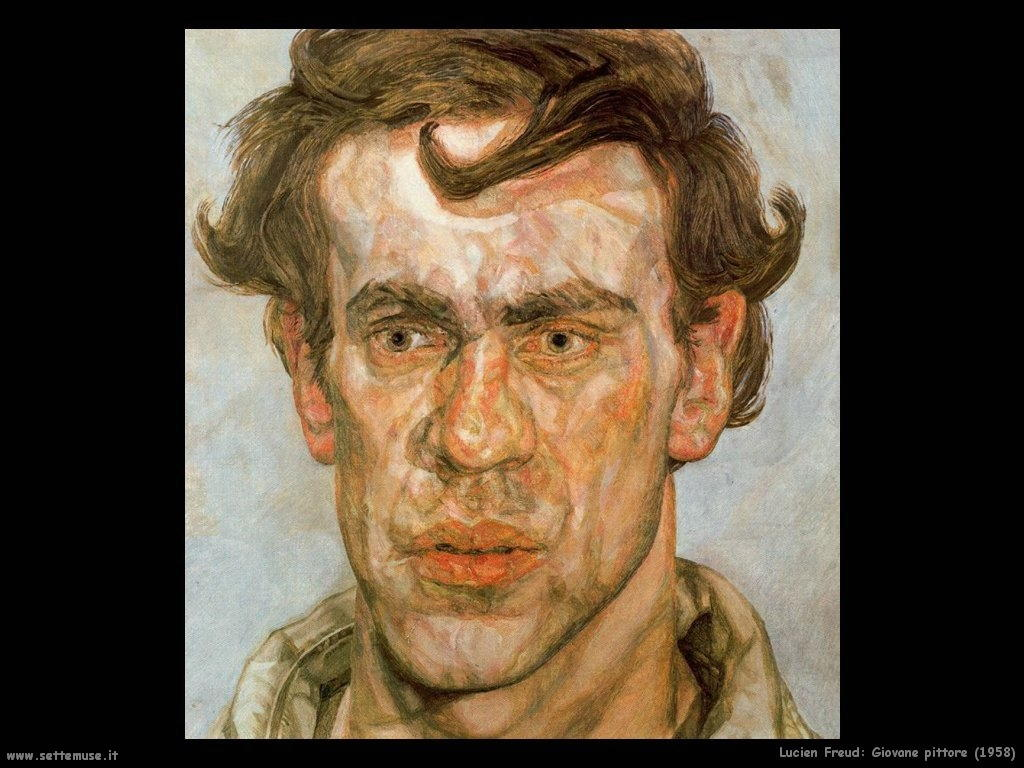 Lucian freud giovane pittore 1958