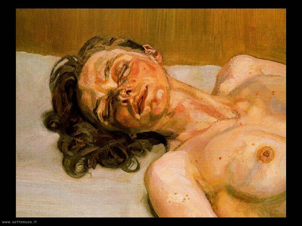 Lucian_freud_ragazza con occhi chiusi_1986