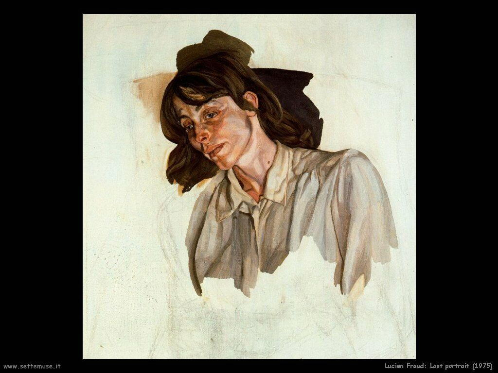 Lucian freud ultimo ritratto 1975