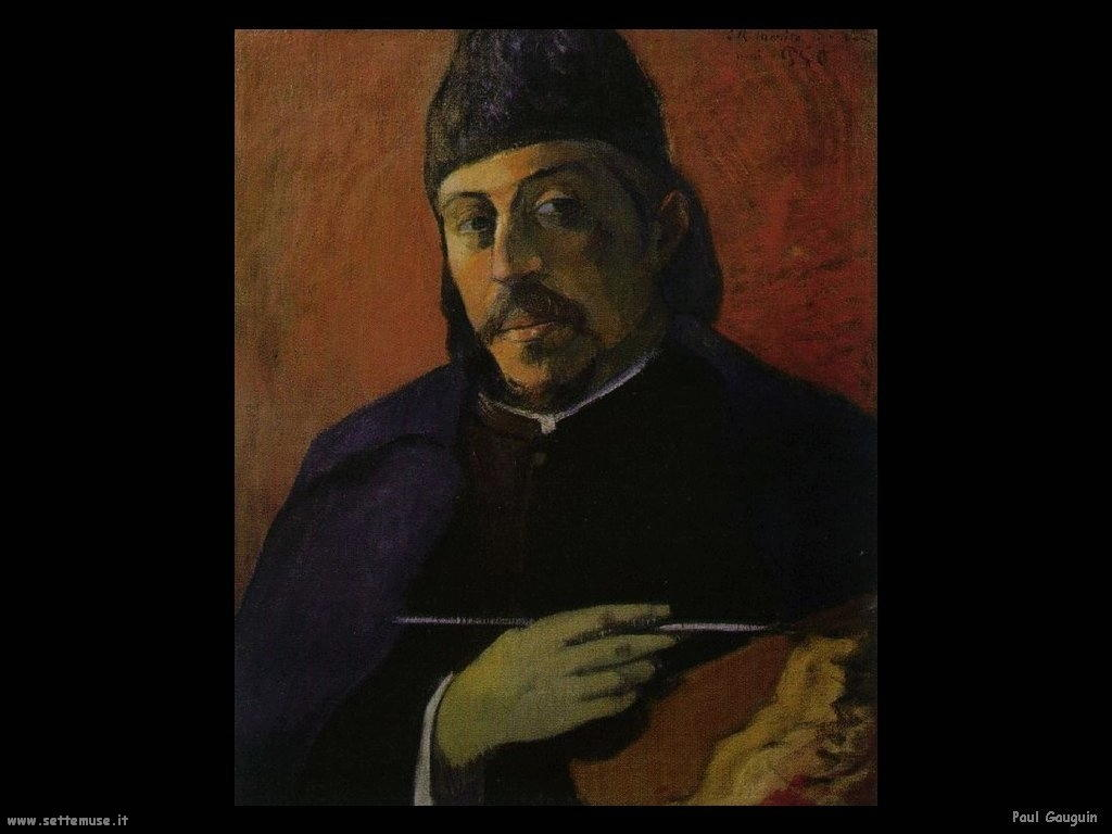 Paul Gauguin autoritratto