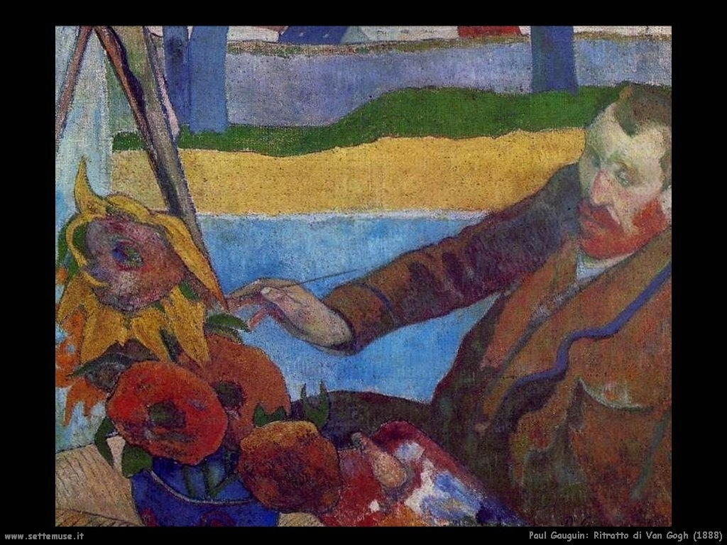 van gogh and paul gauguin relationship