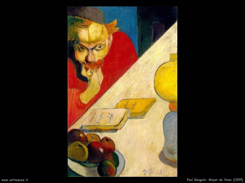 Paul Gauguin meyer de haan 1889