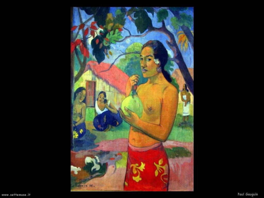 Paul Gauguin dove vai 1893