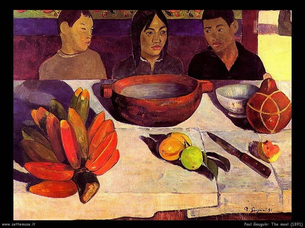Paul Gauguin Gli Uomini 1891