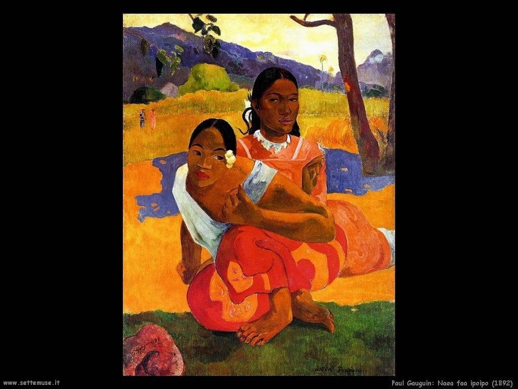 Paul Gauguin naea faa ipoipo 1892