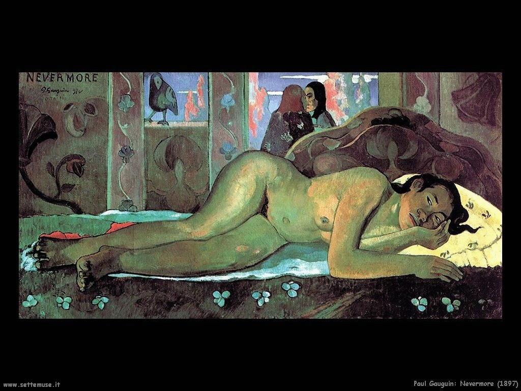 Paul Gauguin never more (1897)