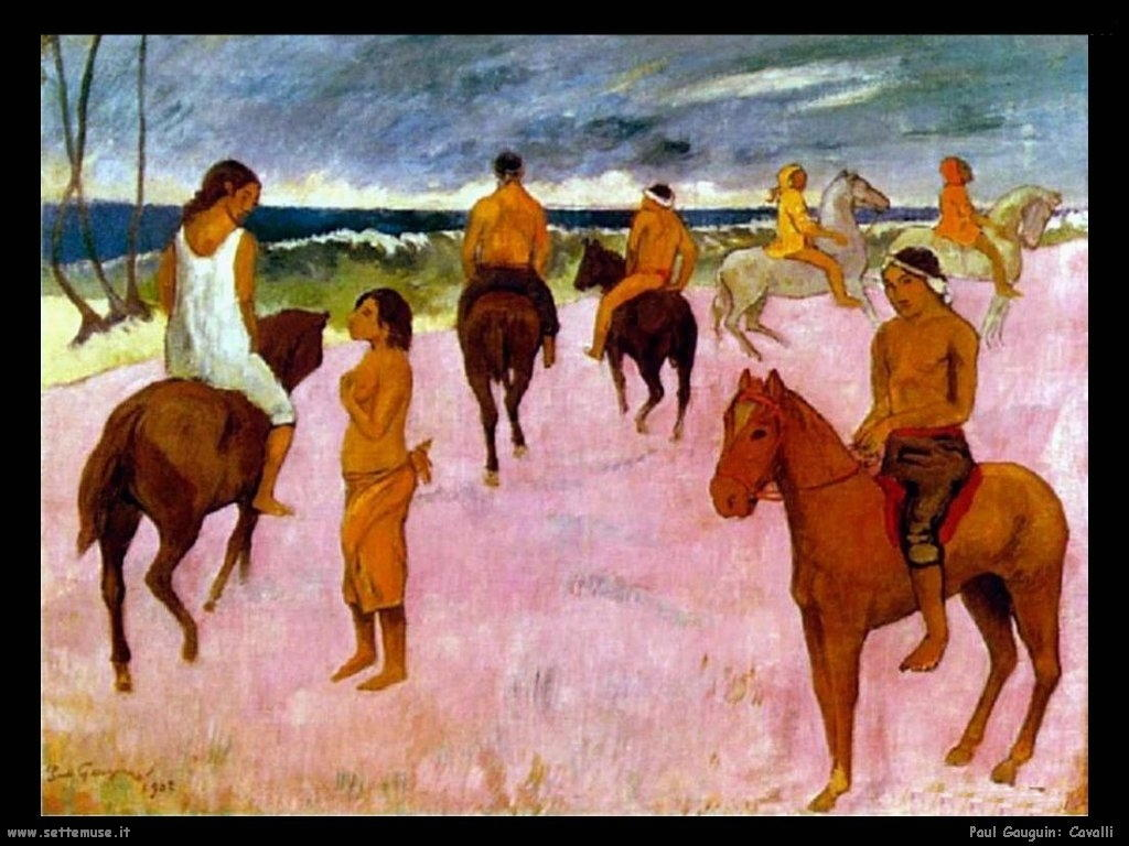 Paul Gauguin cavalli