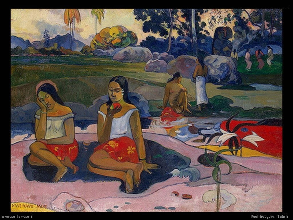 Paul Gauguin tahiti2