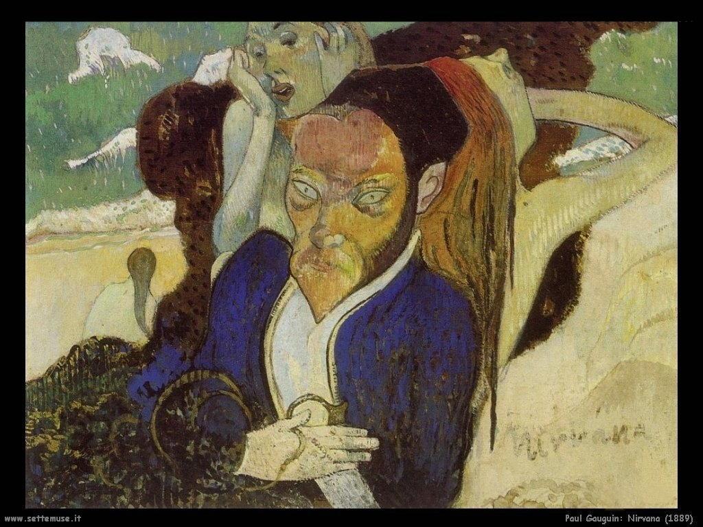 Paul Gauguin nirvana 1889