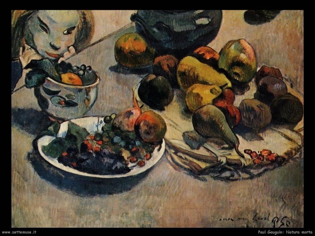 Paul Gauguin natura morta