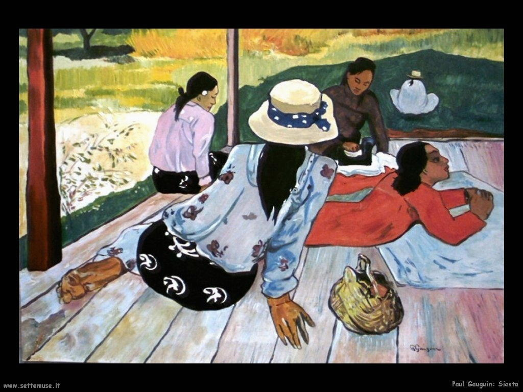 Paul Gauguin_siesta