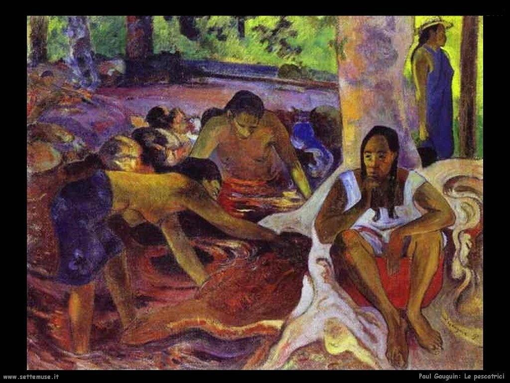 Paul Gauguin le pescatrici