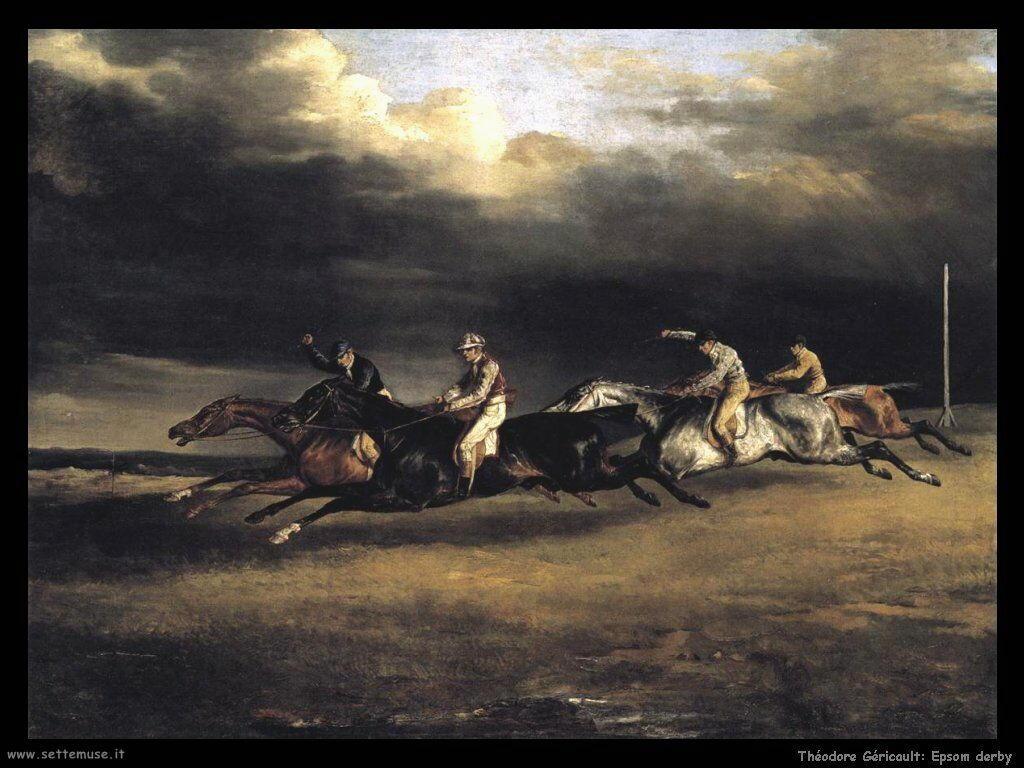 Theodore Gericault Epsom derby