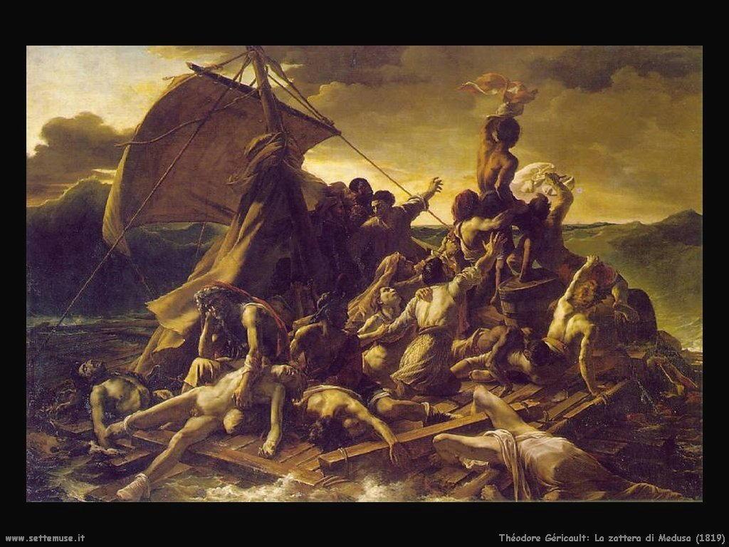 La zattera della Medusa  (1819) (35mq)