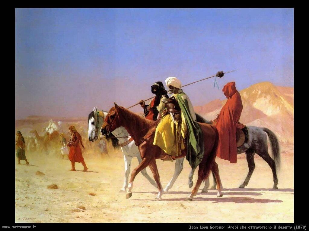 010_Arabi_attraversano_il_deserto_1870