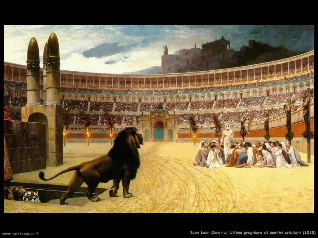 jean_leon_gerome_077_ultima_preghiera_martiri_cristiani_1883