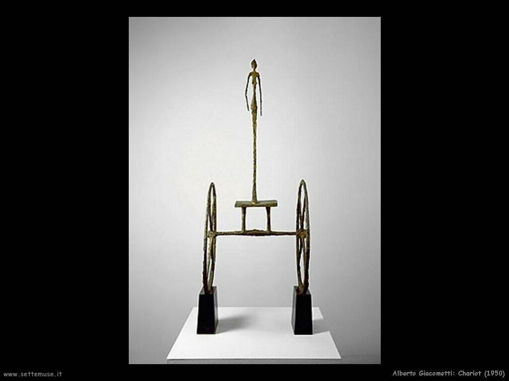 alberto_giacometti_chariot_1950