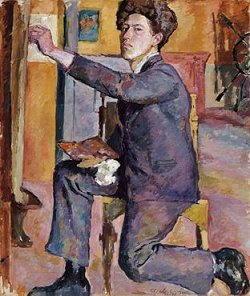Autoritratto di Alberto Giacometti