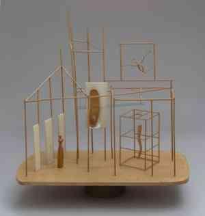 Progetto di Alberto Giacometti