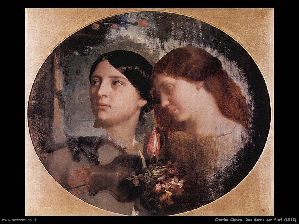 charles_gleyre_due_donne_con_fiori_1852
