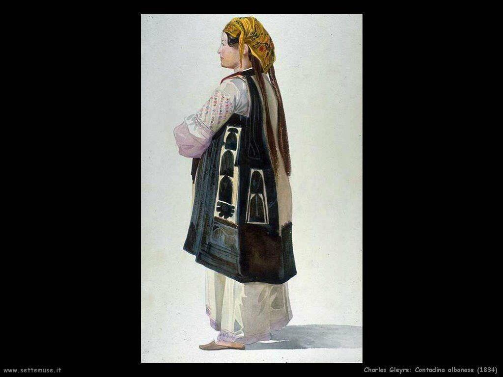 charles_gleyre_contadino_albanese_1834