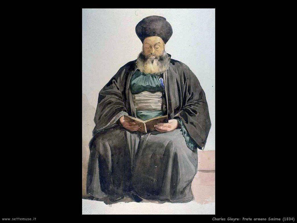 charles_gleyre_prete_armeno_smirne_1834