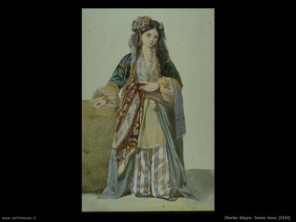 charles_gleyre_donna_turca_1834