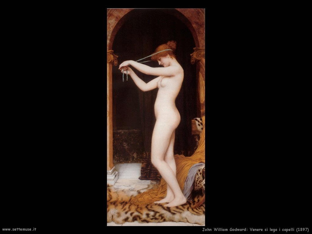 john_william_godward_052_venere_si_lega_i_capelli_1897
