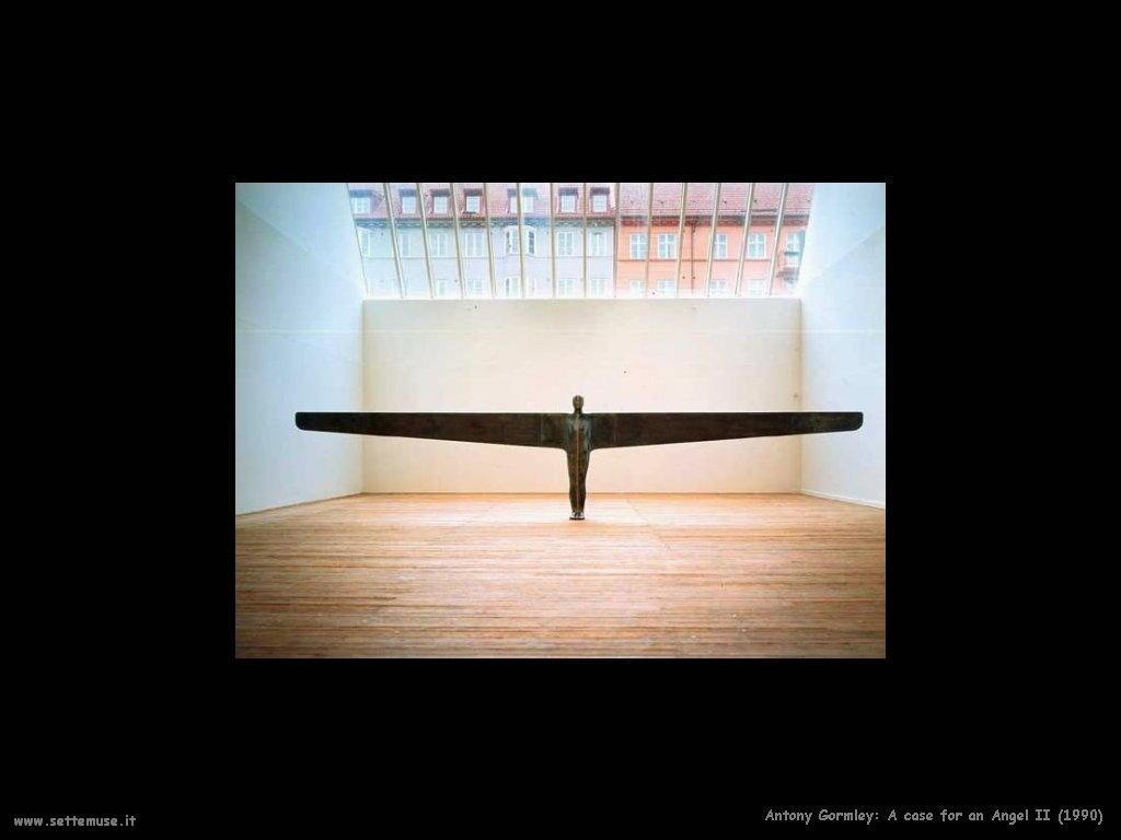 Un caso di un angelo II (1990) AntonyGormley