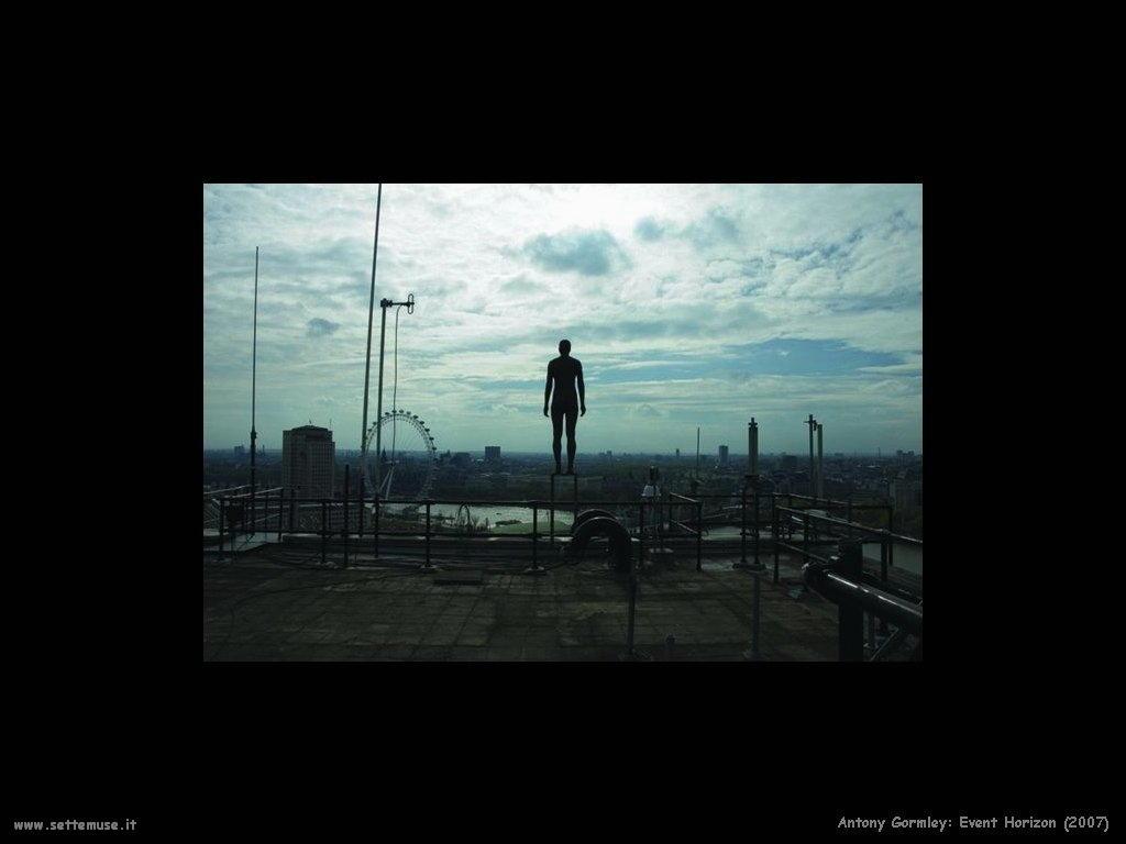 Evento orizzonte (2007) AntonyGormley