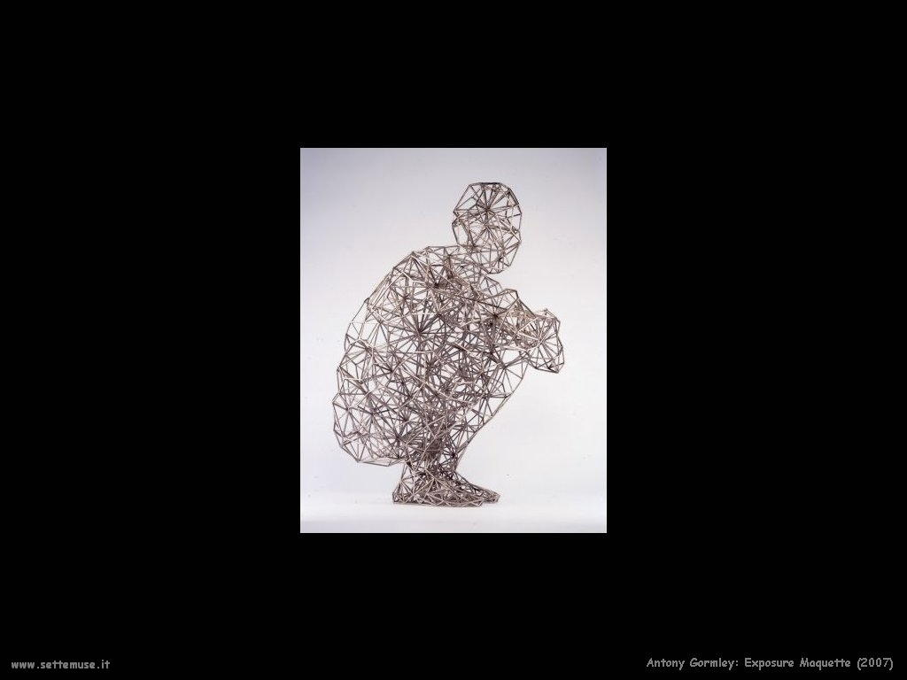Esposizione maquette (2007) AntonyGormley