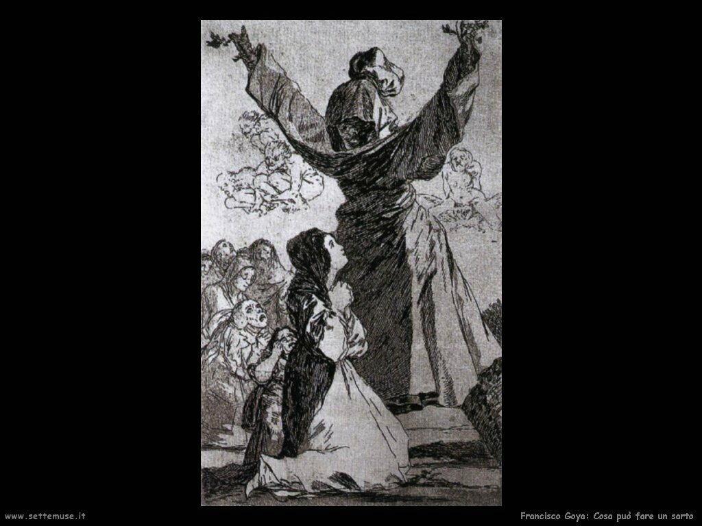 Francisco de Goya cosa puo fare un sarto