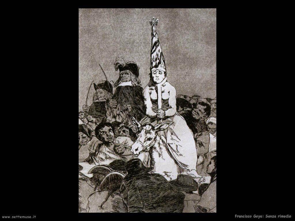 Francisco de Goya senza rimedio