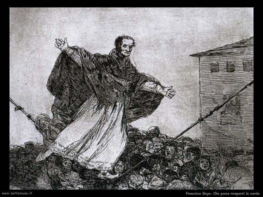 Francisco de Goya possa rompersi la corda