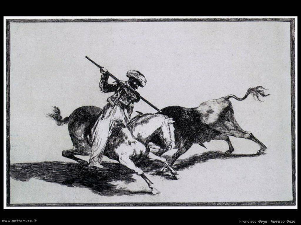 Francisco de Goya morisco gazul