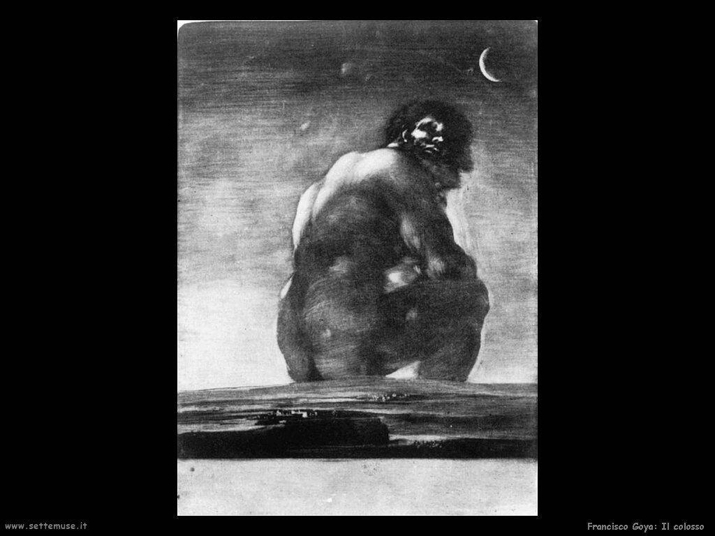 Francisco de Goya il colosso