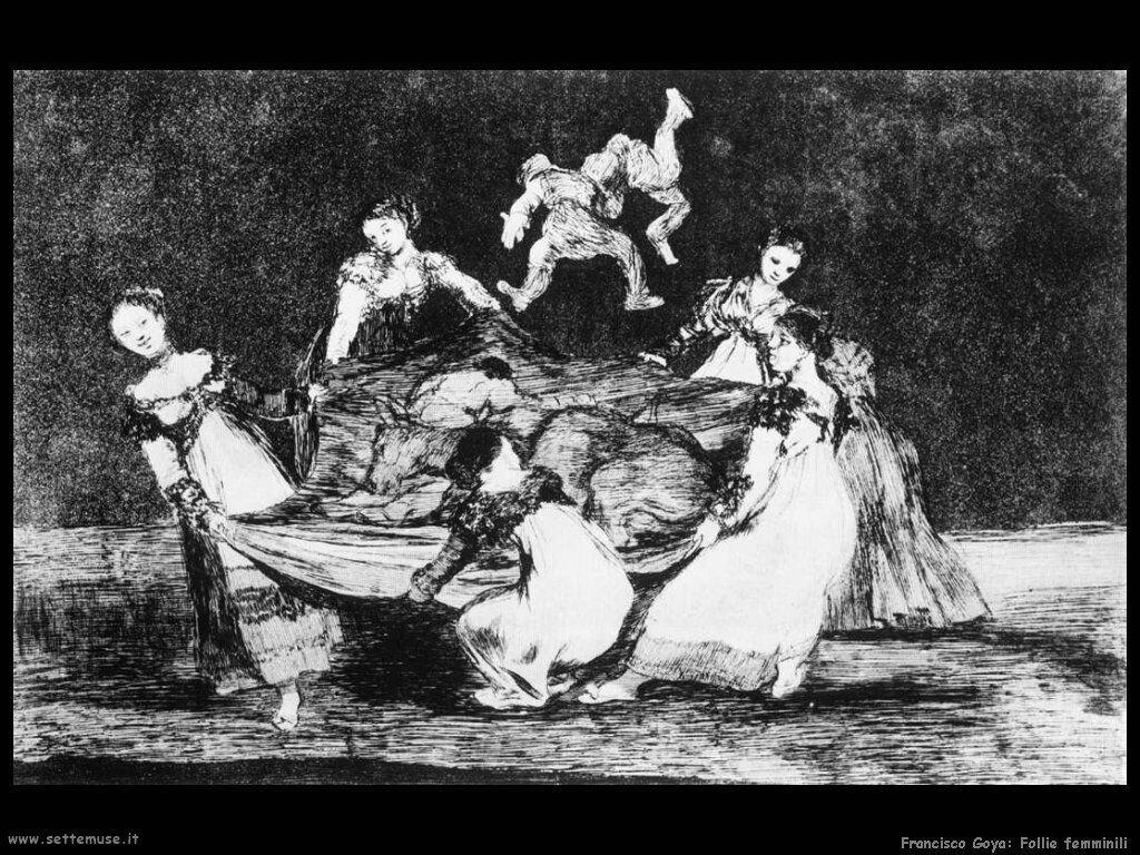 Francisco de Goya follie femminili